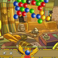 Египетская стрелялка по шарикам