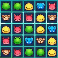 Животные 3 в ряд в зоопарке